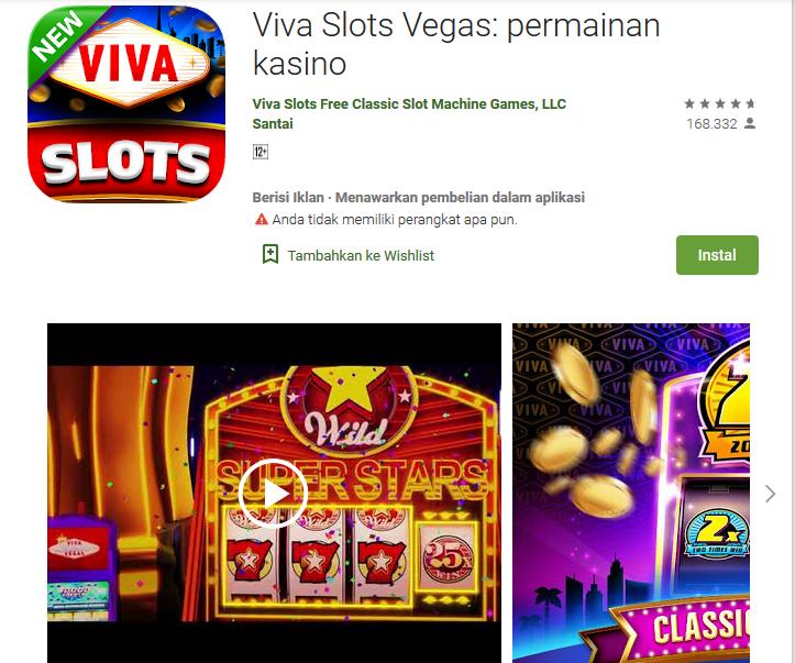Viva Slots Vegas: Permainan Casino Apk Terbaik
